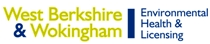 West Berkshire and Wokingham Environmental Health and Licensing logo