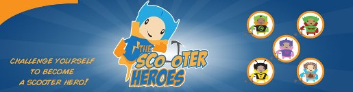 Scooter Heroes logo