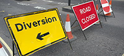 Roadworks information across the Borough