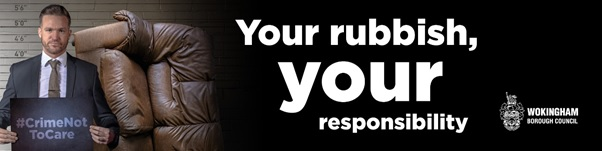 Your rubbish, your responsibility logo